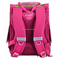 Рюкзак шкільний каркасний Smart PG-11 Flowers Рожевий (554511), фото 5