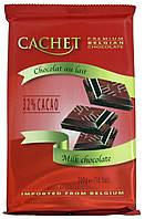 Шоколад молочный CACHET (32% Какао) 300г.