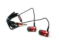 Наушники вакуумные с микрофоном металл MOFAN Stereo Earphones MF-011