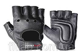 Перчатки для фитнеса и тяжелой атлетики PowerPlay 1572 черные M