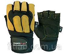 Фитнес перчатки с напульсником