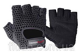 Перчатки для фитнеса и тяжелой атлетики PowerPlay 1953 черные S