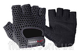 Перчатки для фитнеса и тяжелой атлетики PowerPlay 1953 черные M