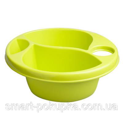 Гигиеническая миска Maltex Top and tail bowl  green