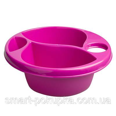Гигиеническая миска Maltex Top and tail bowl  pink