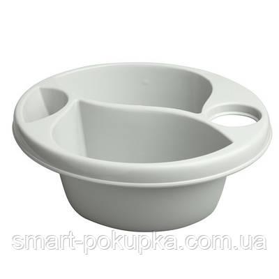 Гигиеническая миска Maltex Top and tail bowl big  gray