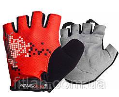 Велоперчатки PowerPlay 002 B Красные M