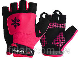 Велоперчатки женские PowerPlay 5284 C Розовые XS