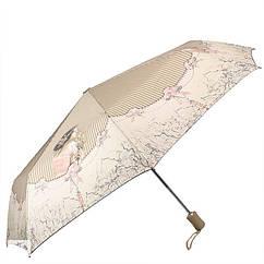 Зонт ZEST женский полный автомат 3 сложения 83725