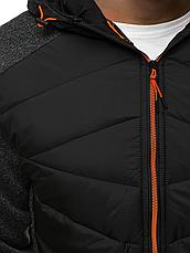 Спортивна куртка демісезонна(батник)чоловіча з капюшоном Польща, фото 2