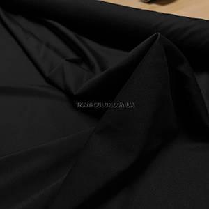 Трикотаж джерсі чорний