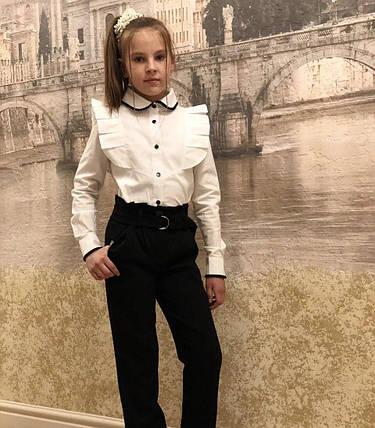 Классические брюки для девочки, фото 2