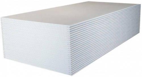 Гіпсокартон стіновий Knauf 2500x1200x 9,5 мм, фото 2