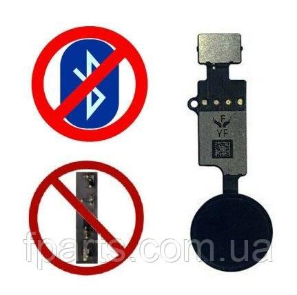 Шлейф iPhone 7, iPhone 7 Plus, iPhone 8, iPhone 8 Plus кнопка HOME (Universal 3rd generation YF) Black