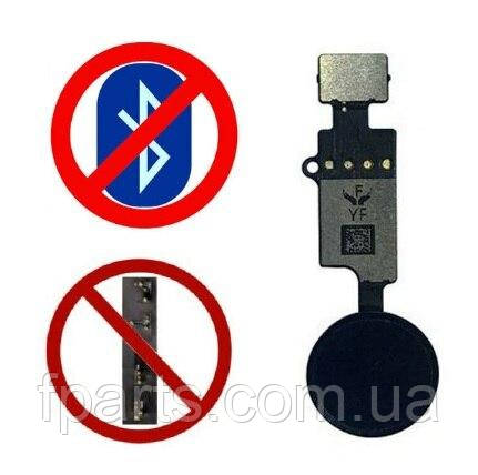 Шлейф iPhone 7, iPhone 7 Plus, iPhone 8, iPhone 8 Plus кнопка HOME (Universal 3rd generation YF) Black, фото 2