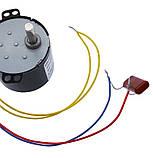 Мотор-редуктор 30,0 об/мин. 220В. 6,5 Вт. KTYZ-50 . реверсивный., фото 6