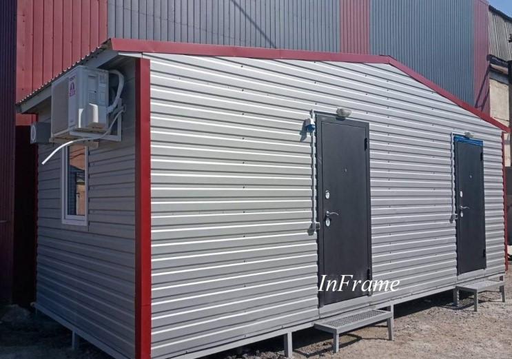 Мобильный офис / Производство модульных зданий
