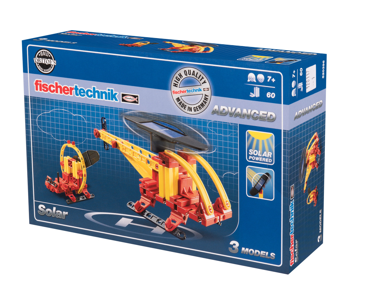 Конструктор Fisсhertechnik ADVANCED Энергия солнца (FT-520396)
