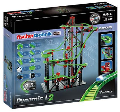 Конструктор Fischertechnik PROFI Динамика L (FT-536621)