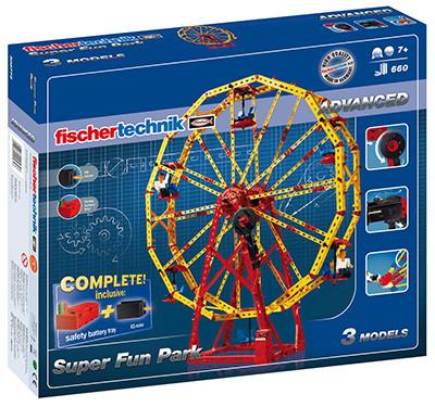 Конструктор Fischertechnik ADVANCED Супер Парк розваг (FT-508775)