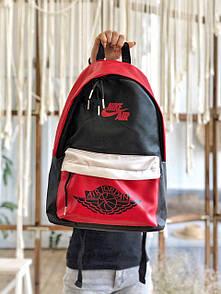Рюкзак Nike Air Jordan Red / Найк Аир Джордан Красный