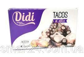 Восьминіг шматочками з часником Didi 111г Іспанія