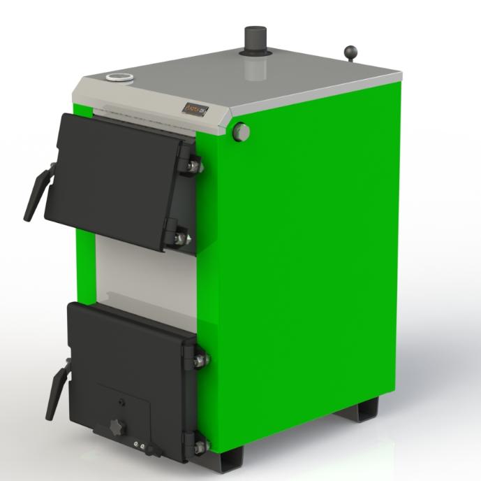 Твердотопливный бытовой котел Kotlant КО 15 кВт базовая комплектация