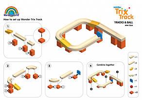 Конструктор Wonderworld Trix Track Поворот (WW-7004), фото 3