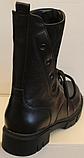 Высокие ботинки женские на каблучке деми от производителя ЛИ12, фото 2