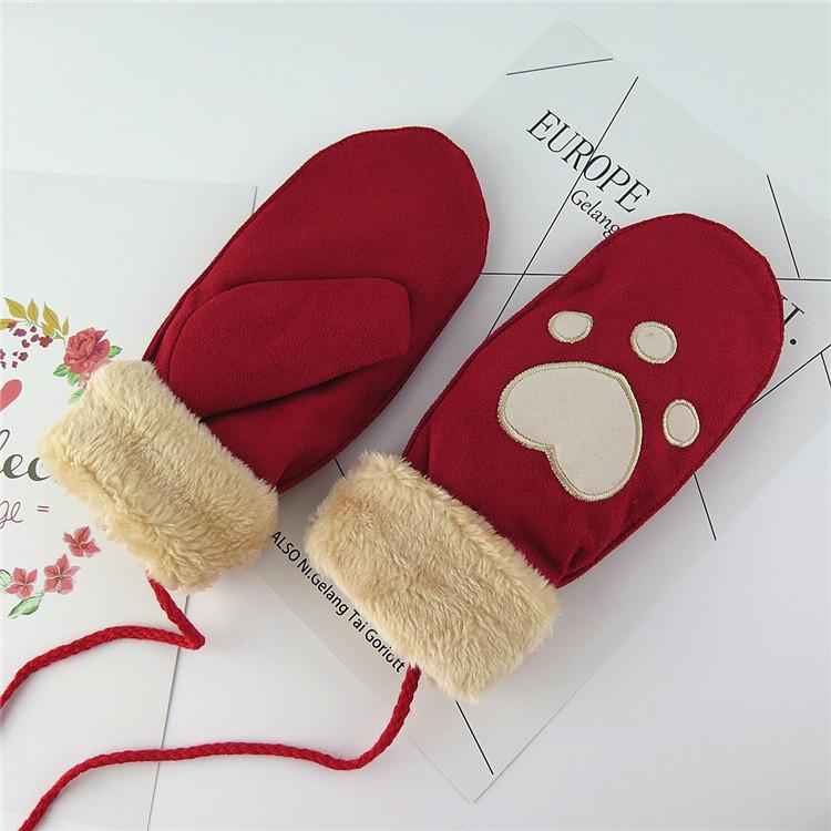 Оригинальные крутые детские варежки рукавички