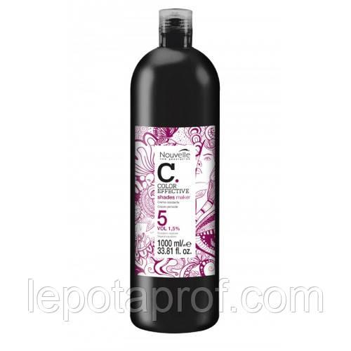 Окислитель Nouvelle LIQUID TONER OXI Cream 1,5%, 100 мл (разлив)