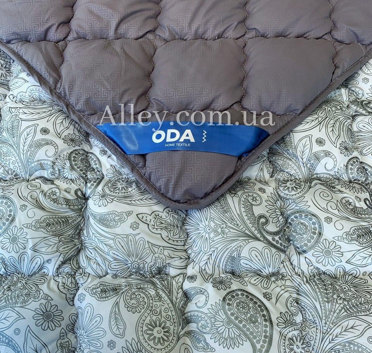 Одеяло евро ОДА 200х220 см. | Антиаллергенное волокно Холлофайбер | Одеяло стёганное теплое ODA