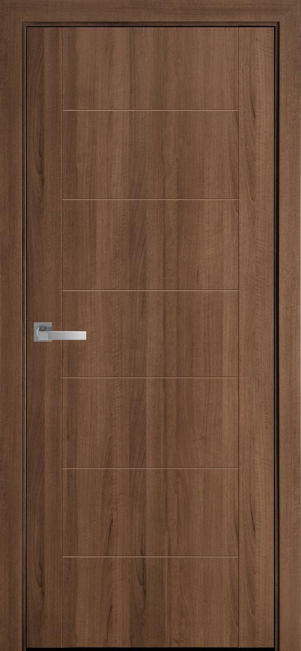 Двери межкомнатные Новый Стиль Рина ПВХ 2000х700 Золотая ольха