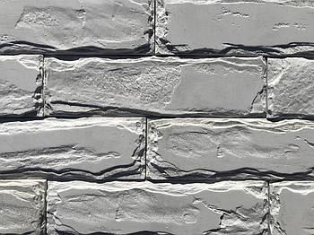 """Форма для декоративного каменю і плитки """"Кримський цегла"""" на 10 плиток, гумова"""