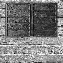 """Форма для декоративного кирпича  """"Кирпич Лофт"""" на 10 плиток, резиновая, бесшовная, фото 5"""