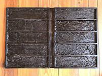 """Форма для декоративного кирпича  """"Кирпич Лофт"""" на 10 плиток, резиновая, бесшовная, фото 7"""