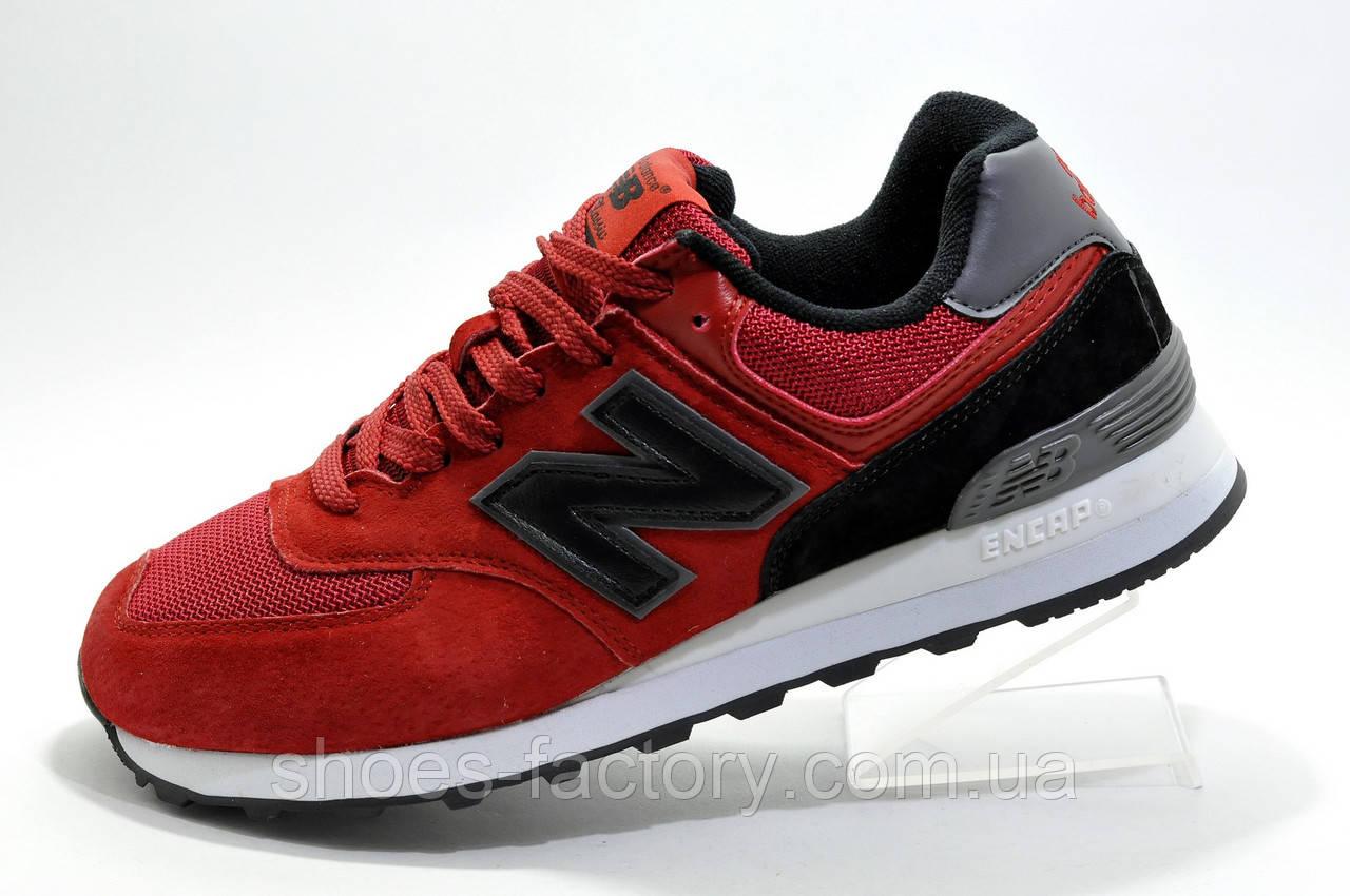 Мужские кроссовки в стиле New Balance 574 Classic, Red\Black