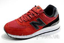 Мужские кроссовки в стиле New Balance 574 Classic, Red\Black, фото 3