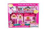 Кукольный дом на батарейках, свет, музыка с семьёй и мебелью, фото 5