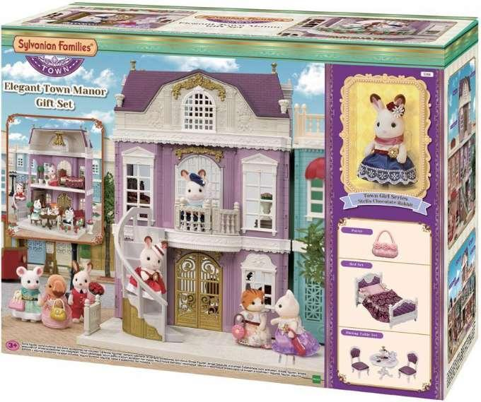 Sylvanian Families 5391 Усадьба с фигуркой Шоколадного кролика Elegant town manor gift set