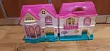 Ляльковий будиночок розкладний з ляльками і меблями арт.16526, фото 3