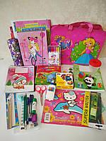 Школьный набор канцтоваров для девочки Стандарт +, 28 предметов