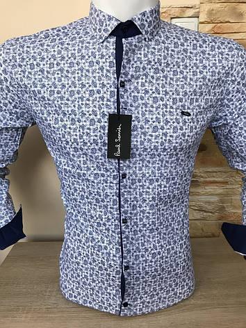 Распродажа! Рубашка длинный рукав Paul Smith с принтом, фото 2