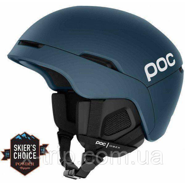 Шлем горнолыжный POC Obex SPIN Hydrogen White, M-L M-L, Синий