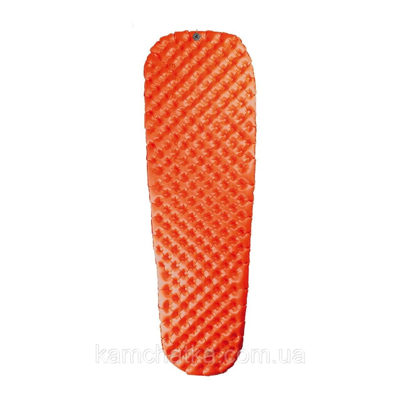 Надувной коврик Sea To Summit Air Sprung UltraLight Insulated Mat Orange, без насоса, 168 х 55 х 5 (STS AMULINSS)