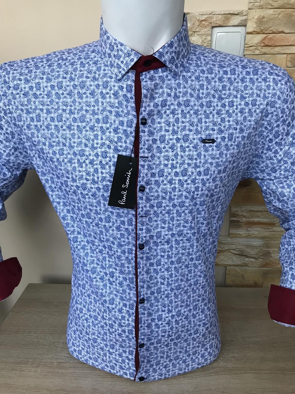 Распродажа! Рубашка длинный рукав Paul Smith с принтом