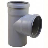 Тройник для внутренней канализации 110х110 мм РР 90° Evci Plastik
