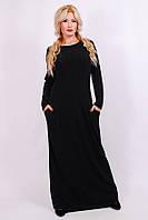 Женское   платье в пол  8079 (42-60)
