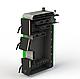 Твердотопливный бытовой котел Kotlant КО-14 кВт-3Д с электронной автоматикой и вентилятором, фото 2