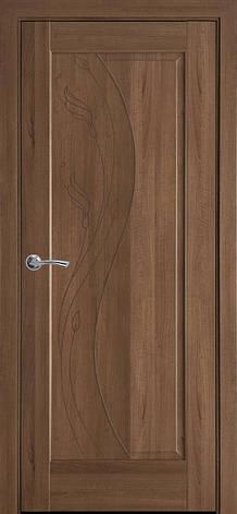 Двери межкомнатные Новый Стиль Эскада глухая ПВХ 2000х700 Золотая ольха, фото 2